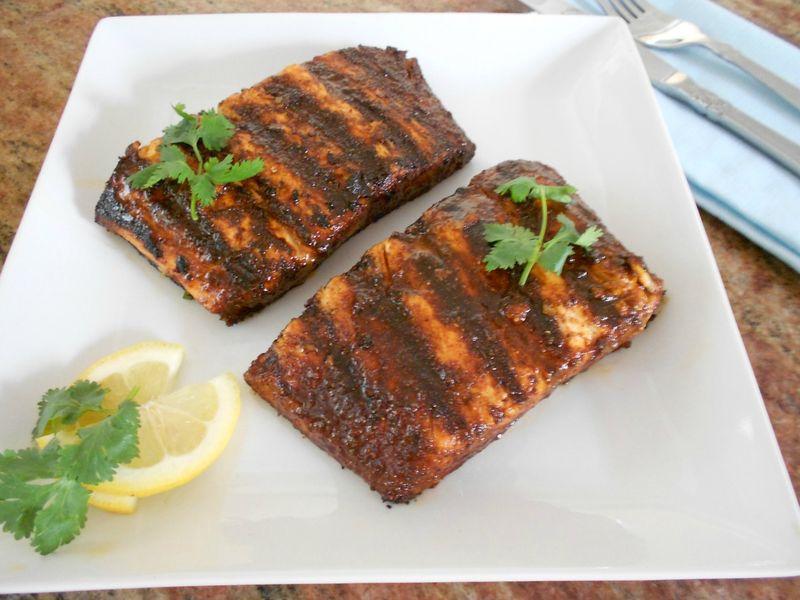 Cocoa salmon