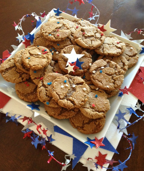 Joy's - 4th - Molasses cookies